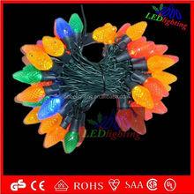 C6 Multicolor Bulb-LED Moulded string light led christmas strawberry string light