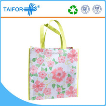 hot sale pictures printing shopping shoe non woven bag