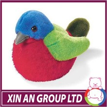 high quality plush bird toy for valentine promotion