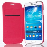 fashion flip leather case cover for sumsung galaxy s4