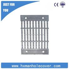 B125 500*500 rectangular cast iron rain grate with certificate diploma printing service
