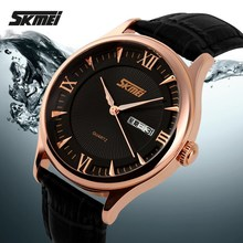 2015 skmei 3atm japan movt leather watch brand name