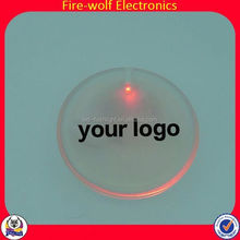 Best Sell Promotion Party Supplies Custom Wheel Cover Stickers Car Badge With Led Light