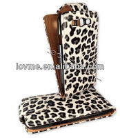 LEOPARD PRINT LEATHER FLIP CASE COVER POUCH FOR SAMSUNG GALAXY S3 i9300