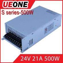 AC DC72V 7A power supply CE approved 72v 500w switching power supply