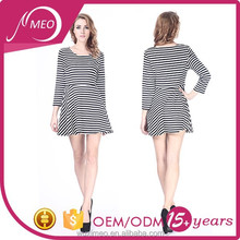 middle aged women fashion musilim frozen casual dress