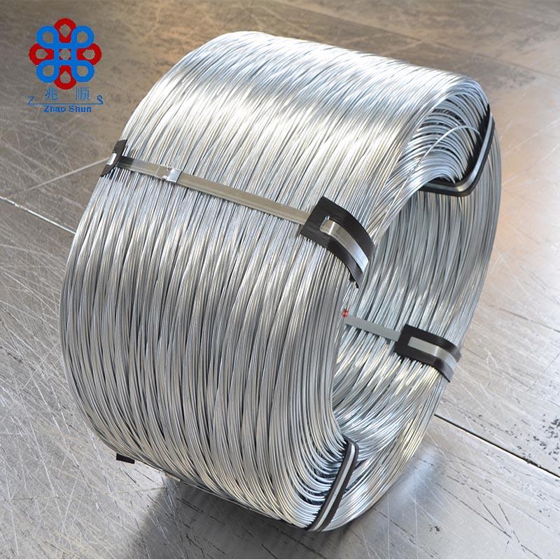 Viñedo electro galvanizado alambre de acero/Alambre de hierro de malla de alambre de 2,0mm con bajo contenido de carbono