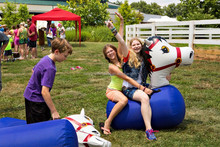 Inflatable derby horse/derby hoppers toy/inflatable pony horse