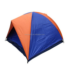 Family camping double layers tent