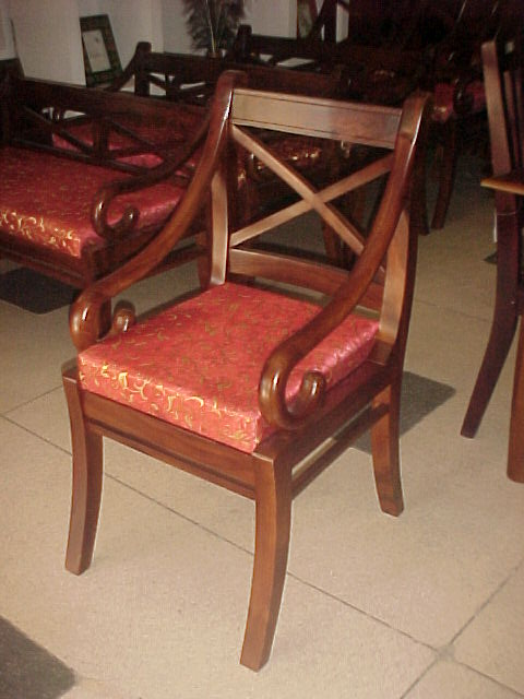wooden chair with cushion buy wooden chair product on