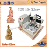 Mini desktop cnc router wood carving machine used for hobby