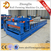 Model 930 Semicircular Roofing Panel Glazed Tile Roll Forming Machinery