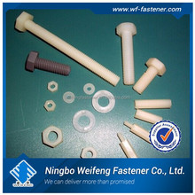 Made in China exporters suppliers factory nylon nut bolt washer furniture hardware plastic shelf supports