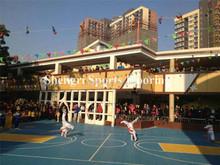 Children specialized outdoor entertainment paving high quality pp interlocking floor