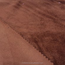 Online 100%polyester decorating Knitted Velboa Polyetser Fabric