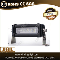 8 inch 20W 4x4 Led Car Light, single row Led Light bar Off road,auto led light cree off road led light bar