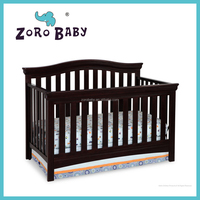 4 in 1 Solid wood Delta Baby cribs Baby cots