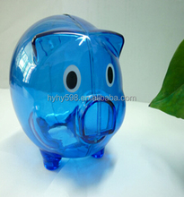 1552802 Special Price Plastic Traditional Cheap Piggy Money Bank
