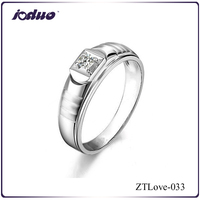 2015 New arrival 925 sterling silver jewelry of hearts and arrows diamond rings