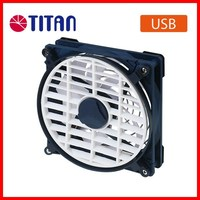 Hiking camping tent touch panel 3 speed controller OEM retail portable USB 5V 14cm DC air cooling fan