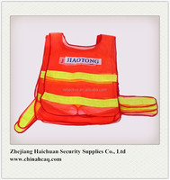 Mesh Fabric Reflective Traffic Waistcoat Safety Vest