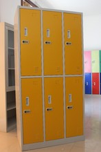 gym use electronic storage steel locker