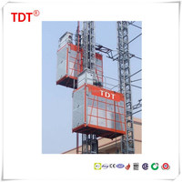 heavy construction equipment SC100/100 building hoist