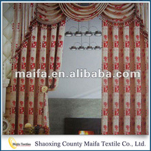 Curtain Supplier Factory price Customized hotel brand curtains