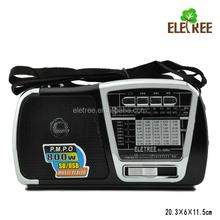 Auto scan radio receiver with sd usb EL-226U best quality portable radio