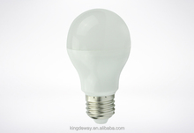 Energy saving Plastic clad A60 3W/5W/7W/9W E27 led bulb light
