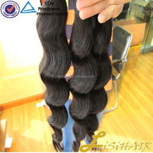 Direct Factory Wholesale Price Supply Raw Virgin Indian Loose Curl Hair