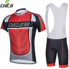 2014 Cheji bike racing clothes quick dry Good quality fabric wholesale can custom