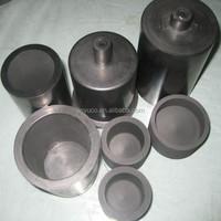 High Purity Metal Melting Silicon Carbide Graphite Crucible