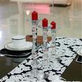 Cristal de la vela centros holder para la decoración