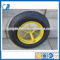 Qingdao cheap wheelbarrow 14x3.50-8 china air compressor wheel,air wheel