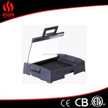 Non Stick indoor charcoal bbq grill CERAMIC GRILL Small Size Charcoal Bbq Grill