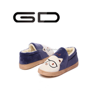 2015 Wholesale cute cartoon slipper cartoon slipper for women