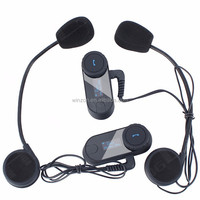FM Radio and LCD Screen! WINZON 1000m bt bluetooth motorcycle helmet bluetooth headphone intercom headset helmet intercoms