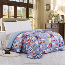 promotional microfiber polyester quilt Multiple quilt microfiber comfoter patchwork quilt HD025