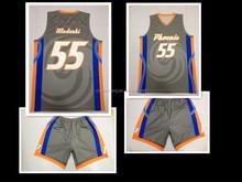 Basketball League Jerseys ! Custom Latest Basketball Uniform/BasketballJersey