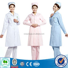 Cheap High Quality Custom Design Nurse/Nurses White Uniform Design/Nurses Winter Uniforms