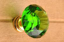 Decorative Crystal Cabinet Handles, crystal knobs,green door handles and locks prices