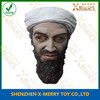 X-MERRY Bin laden lifeklike latex fancy party decoration mask history famouse human head mask