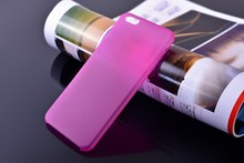 pp ultra thin phone case matte phone cover for iphone 6 plus
