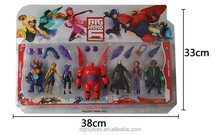 Wholesale baymax big hero 6 plastic sets high quality