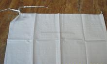 white pp plastic woven bag