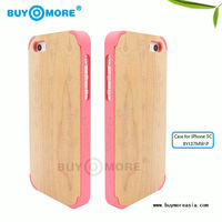 2015 new full wood Top- grade eco-friendly phone cases for iphone 5C 6 6s