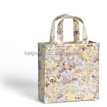 alibaba china reusable luxury PVC shopping promotion bag