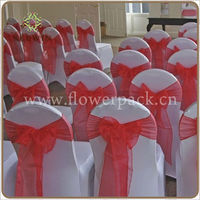 "Width 6""(15cm) x Length 108""(275cm) Satin Chair Sash Wedding Party Banquet Bow Decoration Craft"