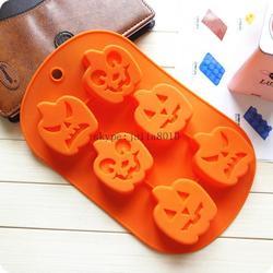 Silicone cake mold pumpkin fairy handmade soap mould baking mould CDSM-044